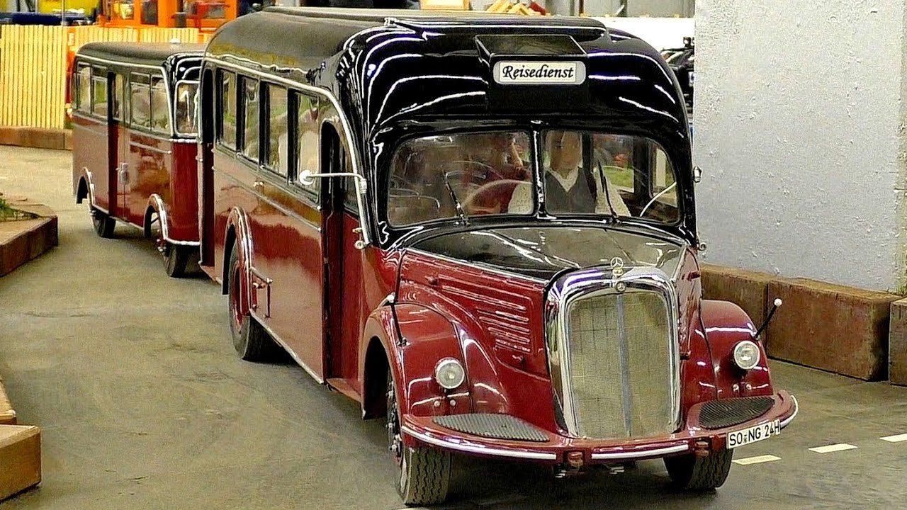Rc Oldtimer Scale 1 7 3 Model Bus Mercedes Benz O 6600 H