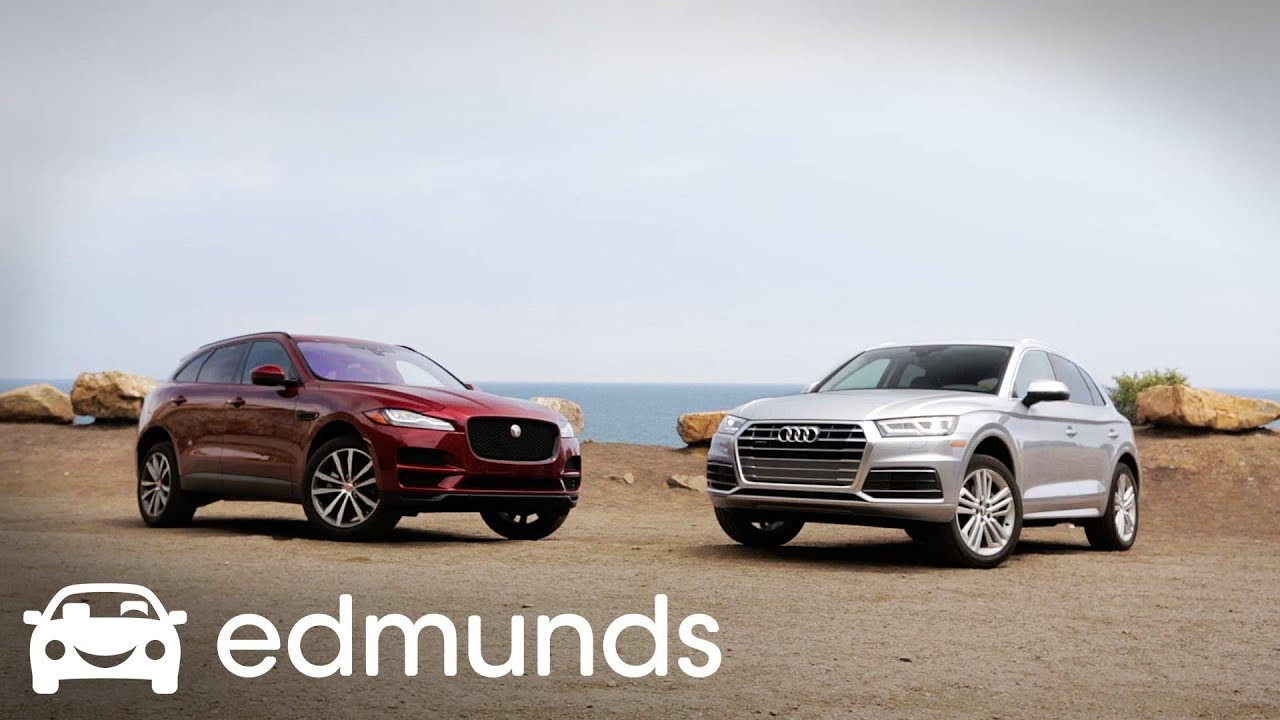 2017 Jaguar F Pace Vs 2018 Audi Q5 Comparison Review Edmunds