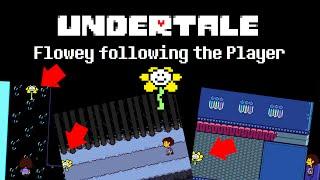 Undertale - Flowey following the Player