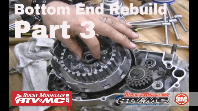 Motorcycle Bottom End Rebuild Part 3 (of 3) Final Assembly - YouTube