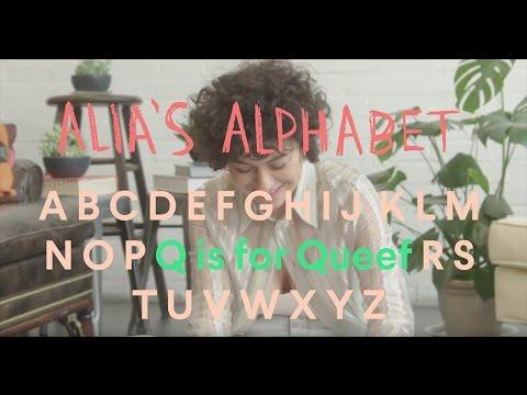 Alia's Alphabet