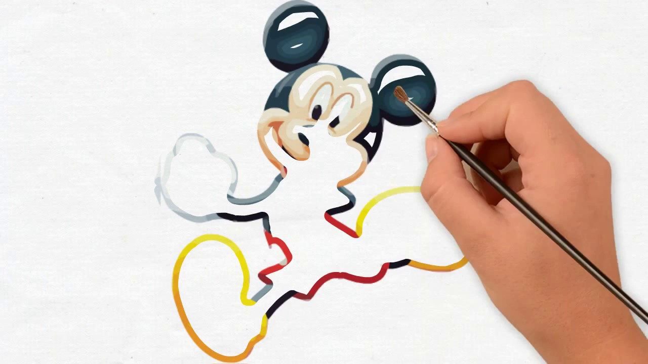 Mickey Mouse 🎨
