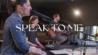 Speak To Me   Kathryn Scott - Vineyard Anaheim NEW ALBUM (OFFICIAL LIVE VIDEO)