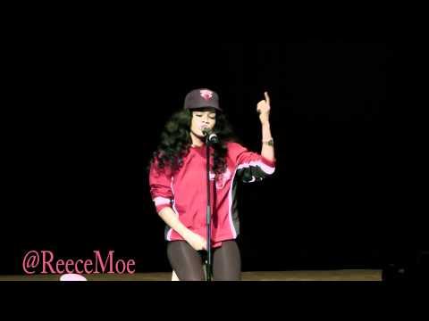 Teyana Taylor sings Drakes Marvin's Room @PolymedMedia