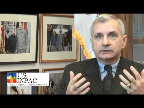 USINPAC - Sen. Jack Reed (D-RI) with a special message to members of USINPAC