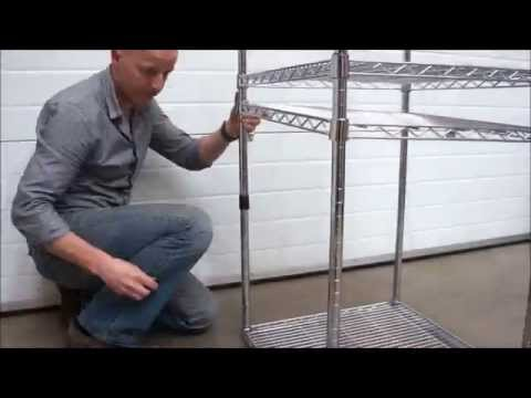 Chrome Shelving - Assembly and Features