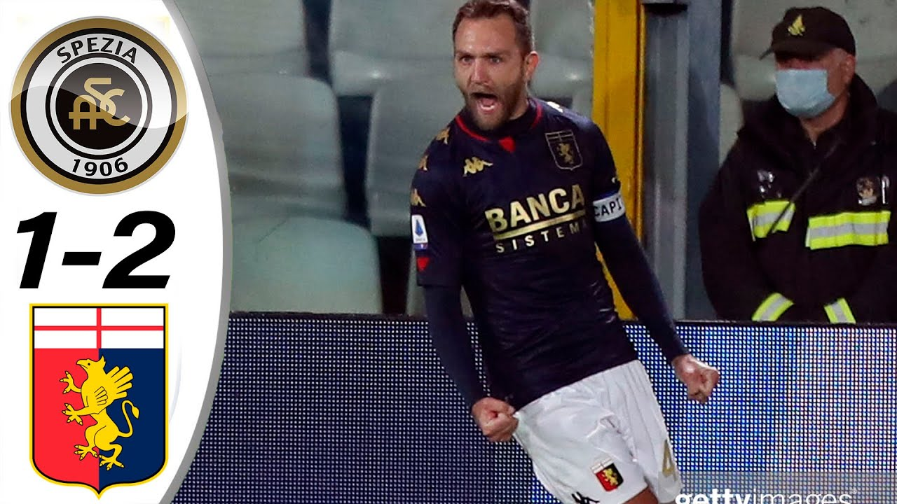 Spezia vs Genoa 1-2 All Goals & Highlights 23/12/2020 HD - YouTube