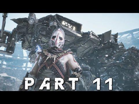 HORIZON ZERO DAWN Walkthrough Gameplay Part 11 - Deathbringer (PS4 Pro)