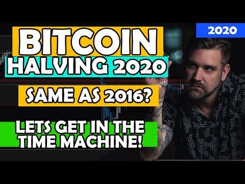 Bitcoin Halving 2020 - Same As 2016? Lets Look!