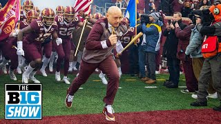 P.J. Fleck on Being Coaches Choice for Coach of the Year | Minnesota | B1G Football