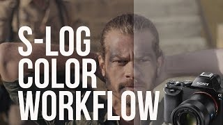 Easy S-LOG Color Grading Workflow (A7S / FS7)