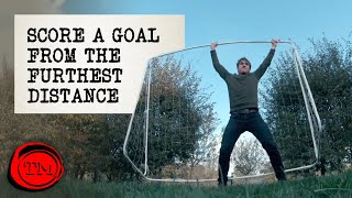 Score a Goal From the Furthest Distance | Taskmaster