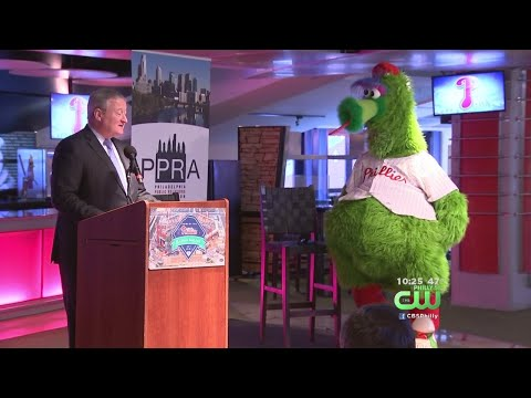 Phillie Phanatic Honored By The Philadelphia Public Relations Association