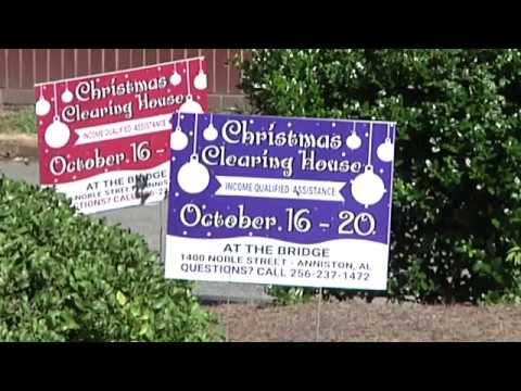 Salvation Army Beginning Prep for Christmas Angel Trees