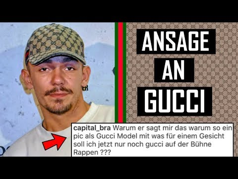 🔴 NIE WIEDER Gucci Cap? Capital Bra wütend auf Gucci 🔴 thumbnail