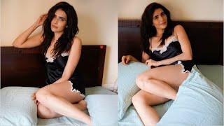 Karishma Tanna Looks STUNNING In Her Latest  Photoshoot In Bedroom