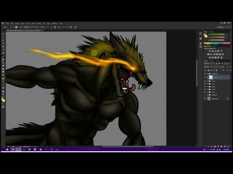 skills-project---drawing-werewolves