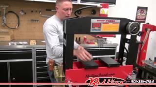 Redline RE20T-A-HD 20 Ton Heavy Duty Hydraulic Shop Press
