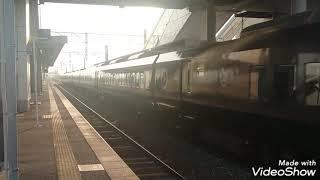 増結8両 787系BM13+サハ787 106 特急かもめ1号長崎行 長崎本線神埼駅通過
