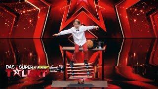 Wow! Der jüngste Zirkusdirektor der Welt! | Das Supertalent 2018 | Sendung vom 15.12.2018