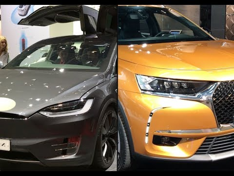 2017 DS 7 Crossback Vs. 2017 Tesla Model X