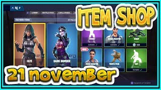 Fortnite ITEM SHOP November 21st all new SKINS and EMOTES-Playr NINE-English Fortnite EN