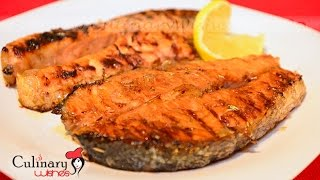 Grilled Salmon With Orange Sauce Recipe