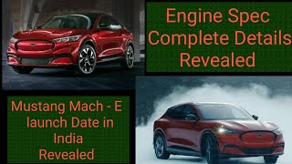 Mustang Mach -E will it come in  INDIA !! In Hindi