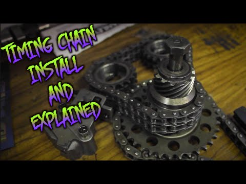 TURBO 240SX BUILD | HOW TO INSTALL TIMING CHAINS