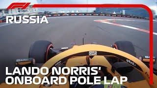 Lando Norris' Pole Lap | 2021 Russian Grand Prix