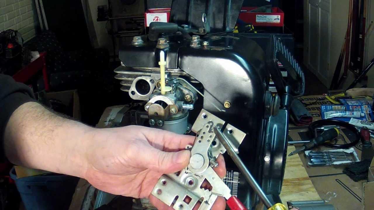 11 Hp Briggs And Stratton Wiring Diagram Tecumseh Hsk70 Rebuild Part 29 Throttle Control
