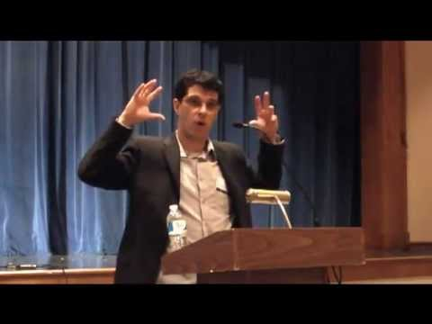 "Steven Galloway, author of ""The Cellist of Sarajevo"" at Talbot County Auditorium"