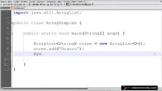 Universidade XTI - Curso Online Java - Aula 022 - ArrayList