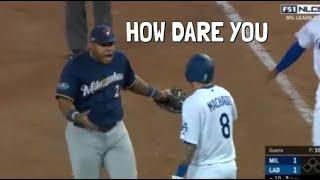 MLB Bad Sportsmanship