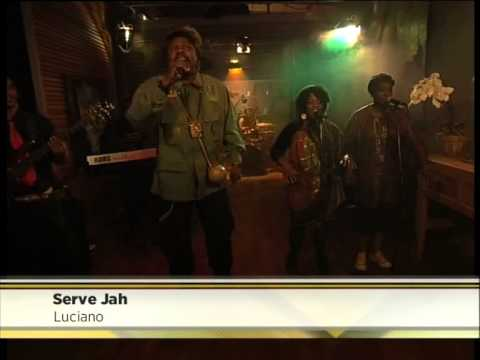 Reggae star Luciano performs 'Serve Jah' on Expresso
