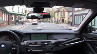 The co-drivers view: Oxford City Centre