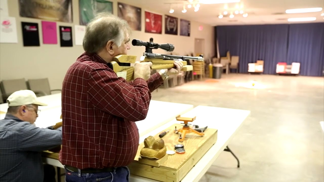 Air gun matches gaining popularity at Oklahoma City Gun Club