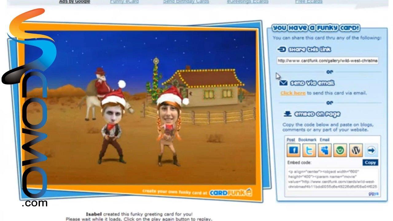 C mo hacer tarjetas navide as animadas online youtube - Como hacer tarjetas navidenas originales ...