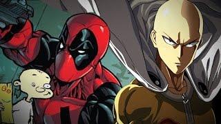 Deadpool & Saitama & Johnny INVADES Pyrkon 2016