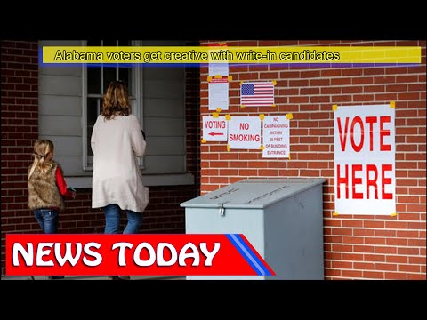 US News - Alabama voters get creative with write-in candidates