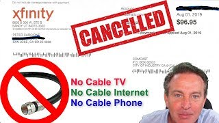 🔴CABLE TV, INTERNET & PHONE Good Bye! :)