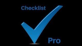 Checklist Pro - Configuration