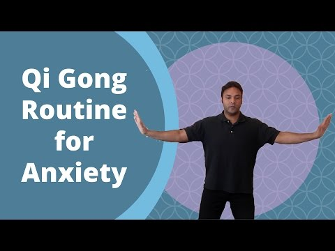 Easy Qi Gong Routine for Anxiety and Stress - w/ Jeffrey Chand