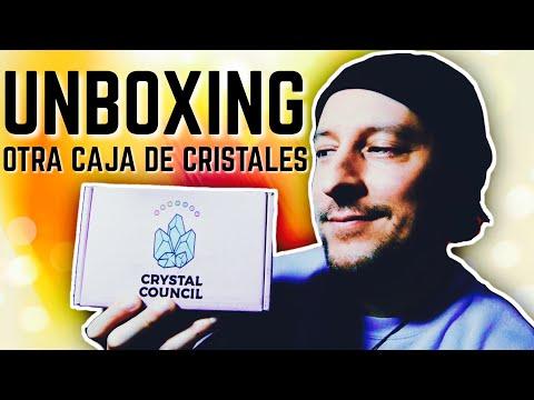 ABRIENDO UNA CAJA DE PIEDRAS DE CRYSTAL COUNCIL POR PRIMERA VEZ, SEEKER BOX UNBOXING | Alfredoistic