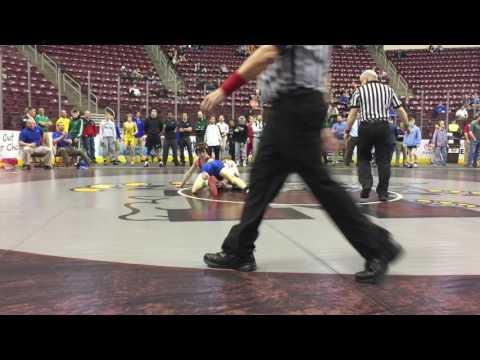 District 3 Class 3A Wrestling Highlights - Dauer: 103 Sekunden