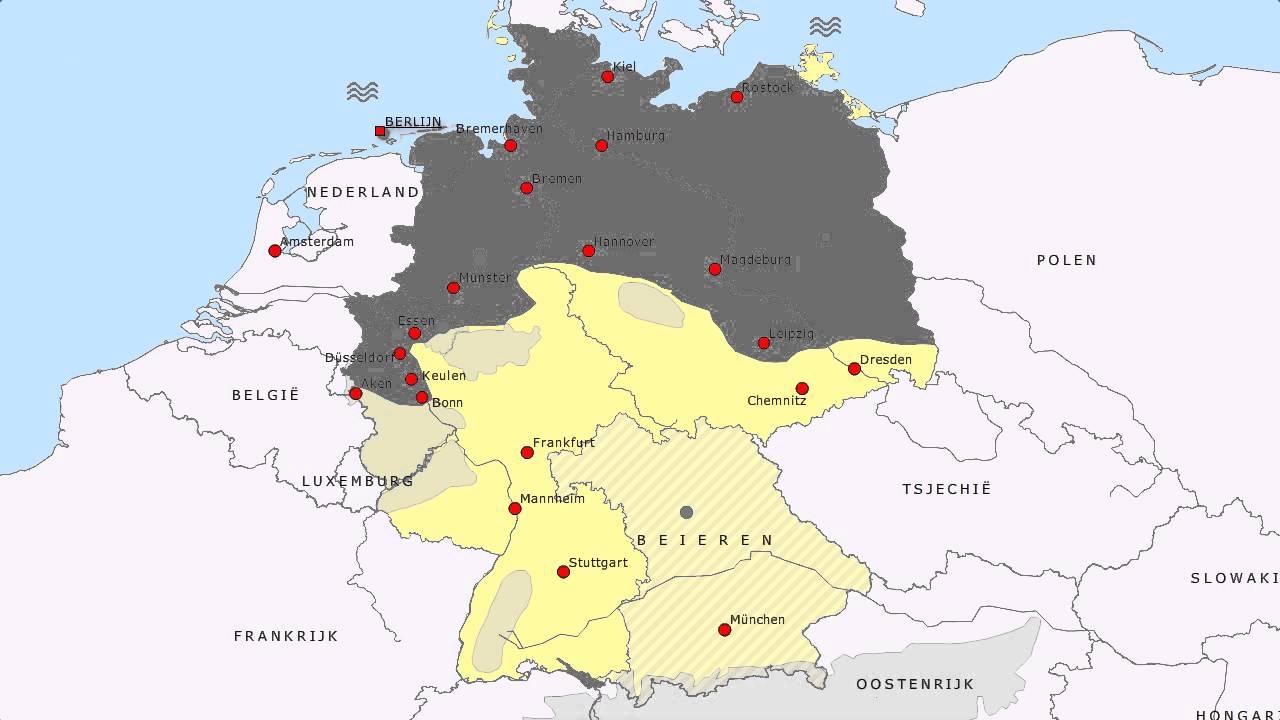 Topografie Duitsland Uitgebreid Youtube