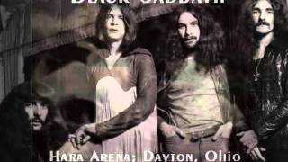 Black Sabbath - Live at Hara Arena , Dayton , 1972
