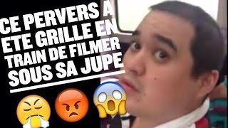 Repeat youtube video UN PERVERS FILME SOUS SA JUPE ET ELLE LE CHOPE !