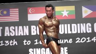 WBPF SEA 2014 (Athletic Physique) - Ricky Daud (Indonesia)