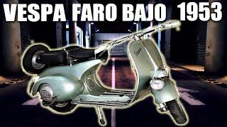 Primera Vespa Matriculada en Mallorca😮 Faro Bajo 1953💥Ducati Deluxe 250. Mallorca en Motorvlog  53